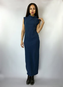SOLD Blu Monday Column Dress