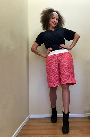 Candy Pink Culottes