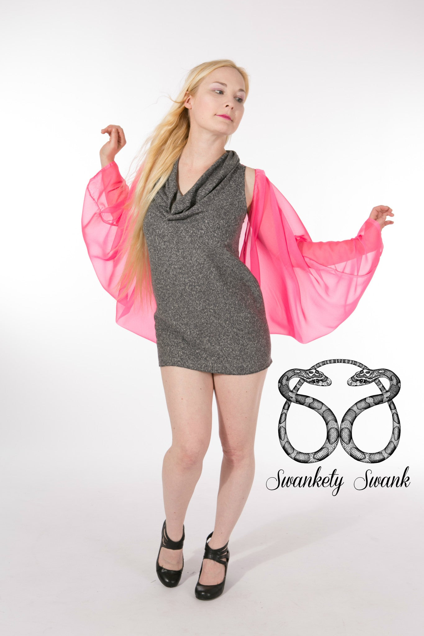 InstaGlam Shrug in Pink
