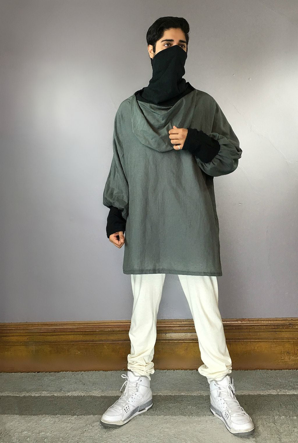 Hemp Crepe Tunic