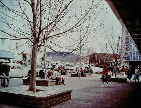 Garema Place in the 50's