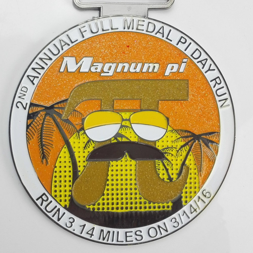 MAGNUM PI DAY RUN - Full Medal Runs Running Medals