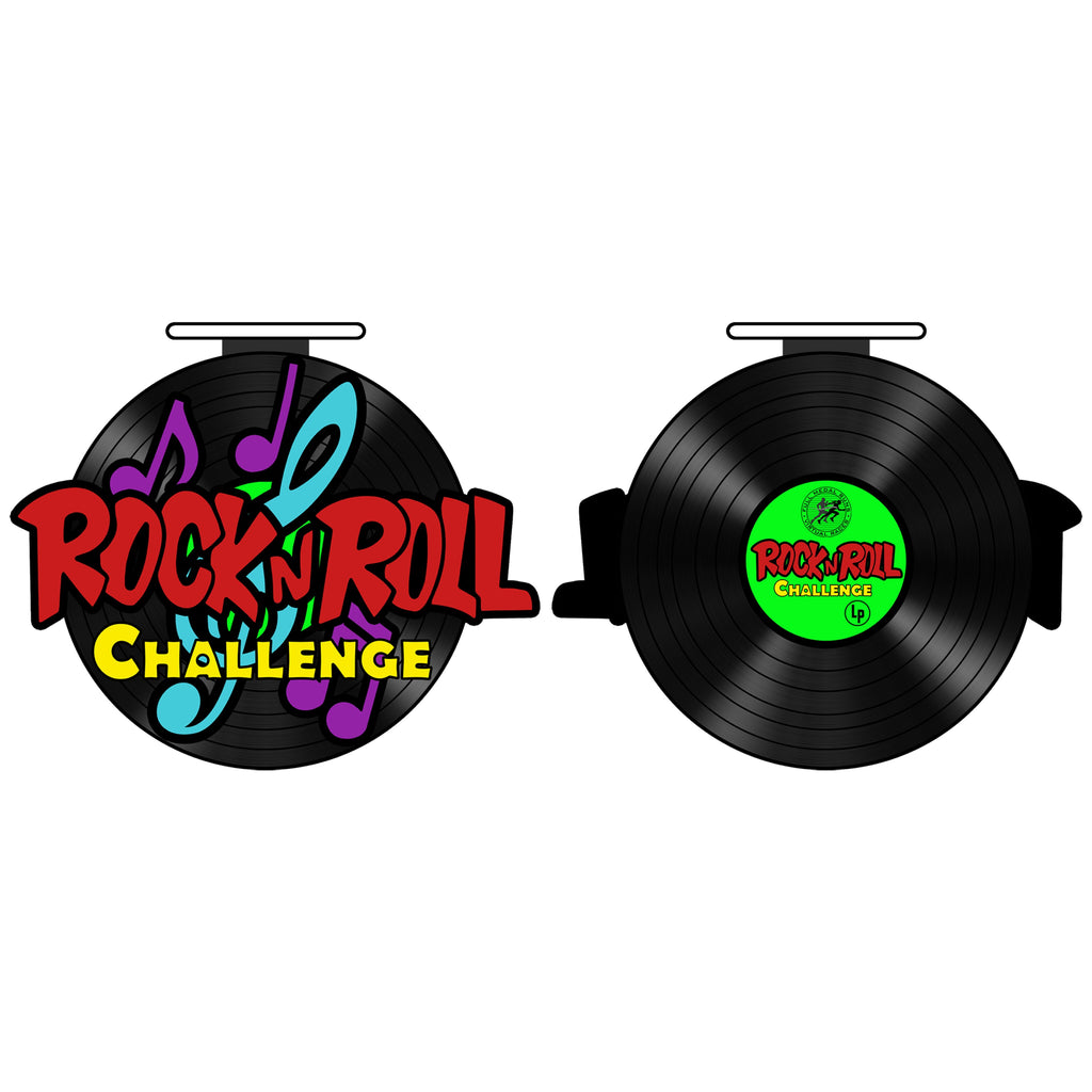 ROCK N ROLL CHALLENGE - 50 MILE TO 200 MILE - 14 MEDALS REMAINING! - Full Medal Runs Running Medals