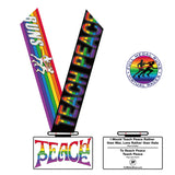 TEACH PEACE - Full Medal Runs Running Medals