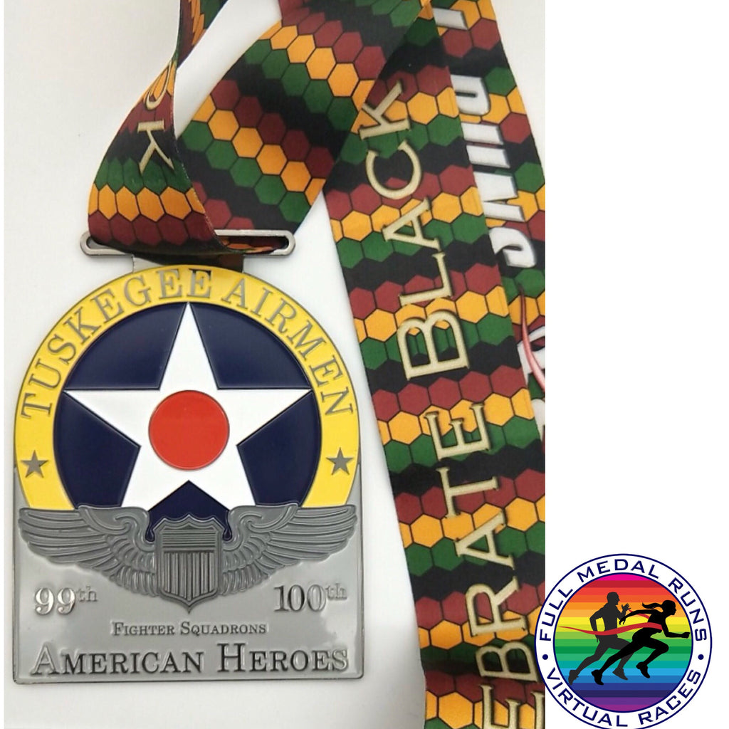 AMERICAN HEROES RUN - Full Medal Runs Running Medals