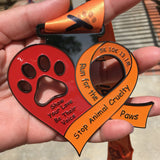 STOP ANIMAL CRUELTY AWARENESS RUN - Full Medal Runs Running Medals