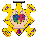 AUTISM AWARENESS RUN - Full Medal Runs Running Medals