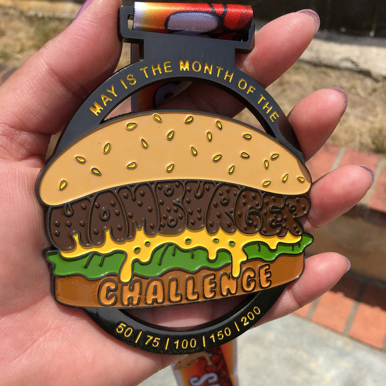 HAMBURGER CHALLENGE - Full Medal Runs Running Medals