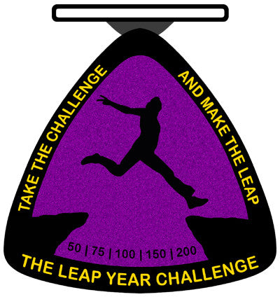 THE LEAP YEAR CHALLENGE - Full Medal Runs Running Medals