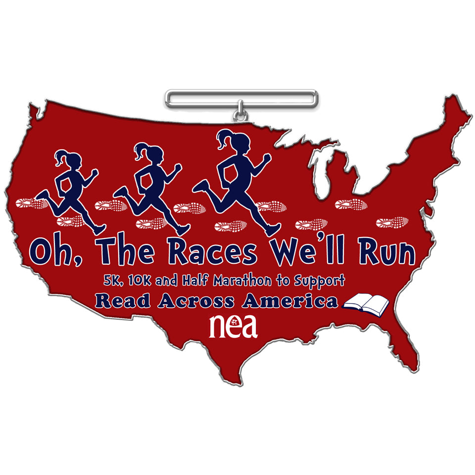 OH, THE RACES WE'LL RUN CHALLENGE - Full Medal Runs Running Medals
