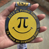 2017 IS PRIME TIME (PI DAY RUN) - Full Medal Runs Running Medals