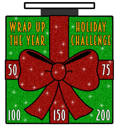 WRAP UP THE YEAR CHALLENGE - Full Medal Runs Running Medals