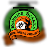 RUNNING SCARED, HAIR RAISING CHALLENGE - Full Medal Runs Running Medals
