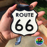 TAKE YOUR KICKS TO ROUTE 66 - Full Medal Runs Running Medals