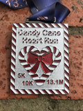 CANDY CANE HEART RUN - Full Medal Runs Running Medals