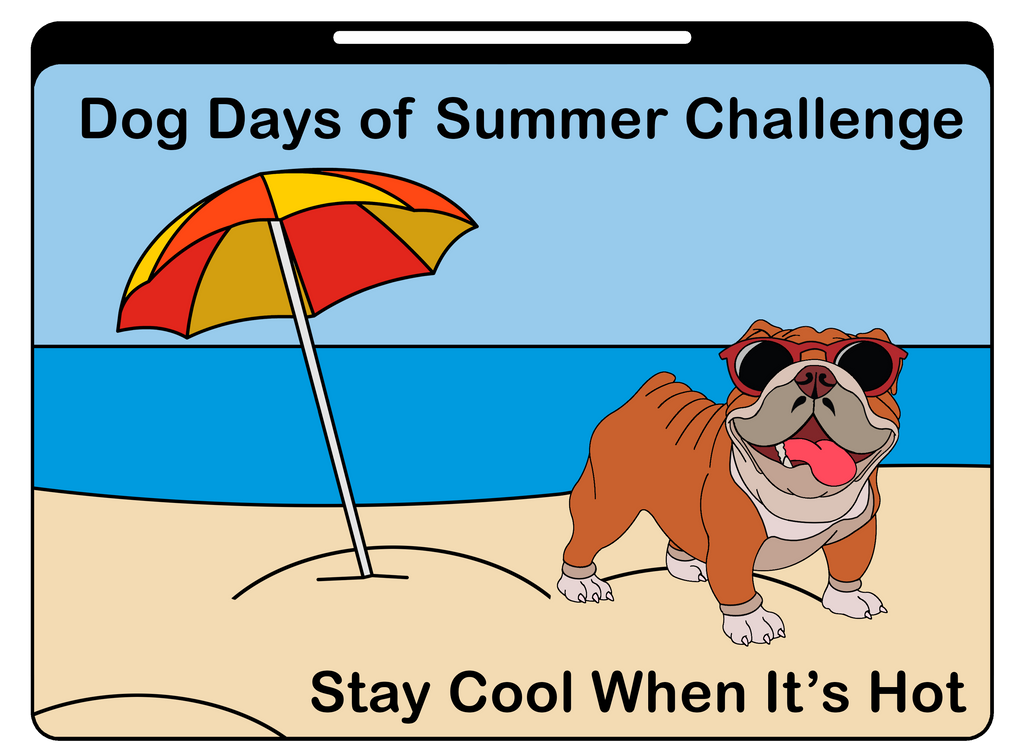 DOG DAYS OF SUMMER CHALLENGE - 50 MILE TO 200 MILE - Full Medal Runs Running Medals