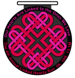 LINKED HEARTS RUN - 4th Annual - Full Medal Runs Running Medals