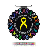RIBBONS OF HOPE RUN 5K/10K/13.1M - Full Medal Runs Running Medals