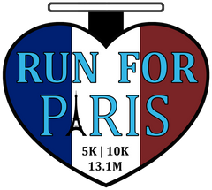 RUN FOR PARIS Virtual Run