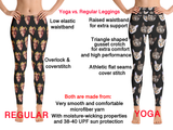 Harley Quinn Birds of Prey Women Leggings - Golden Diamonds - DogzPrinted