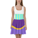 Esmeralda Flare Skater Dress for women - DogzPrinted