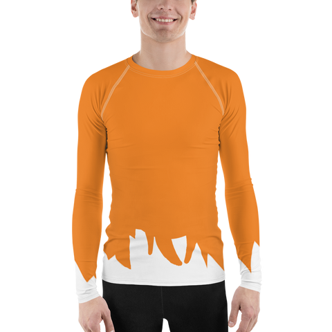 Fox & Hound Men's Rash Guard Shirt - DogzPrinted