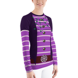 Oxana Vampririna Women's Rash Guard Shirt - DogzPrinted