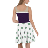 Haunted Mansion Flare Skater Dress for women - DogzPrinted
