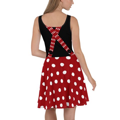 Minnie Flare Skater Dress for women - DogzPrinted