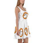 BB-8 Star Wars Droid Flare Skater Dress for women - DogzPrinted