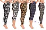 Custom Print Regular Leggings for Women - DogzPrinted
