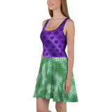 Mermaid Ariel Skater Dress for women - DogzPrinted