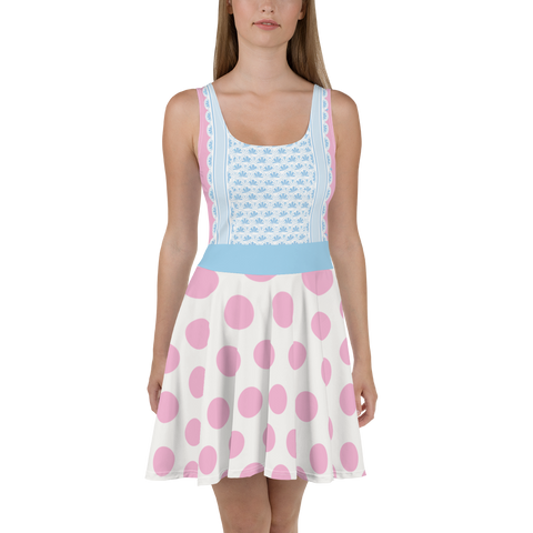 Bo Peep Toy Story Skater Dress for Women - DogzPrinted