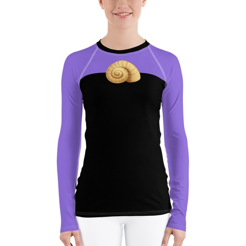 Ursula Sea Witch Women's Rash Guard Shirt - DogzPrinted