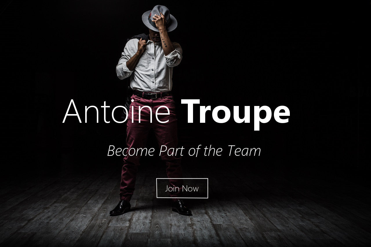 Welcome to the Troupe. Join the Team