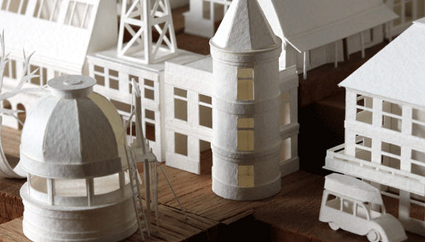 A Miniature Paper Metropolis in the Making