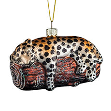 Leopard Christmas Tree Ornament