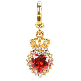 Royal Heart and Crown Charm by Juicy Couture