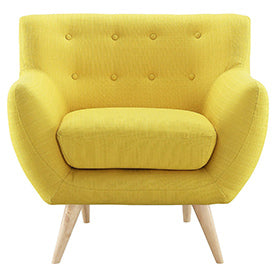 Remark Armchair in Sunny by LexMod on Amazon