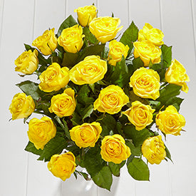 Fairtrade® Yellow Roses from Marks and Spencer