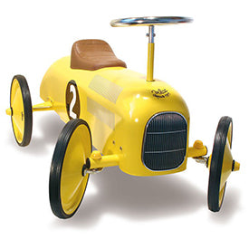 Child's Yellow Classic Car by Vilac Tiny Tiny Shop Shop