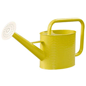 Yellow Orla Kiely Watering Can