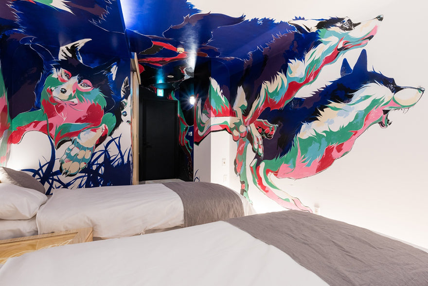 BnA Hotel Japan  Room 1 'Into the foreign' by Yohei Takahashi