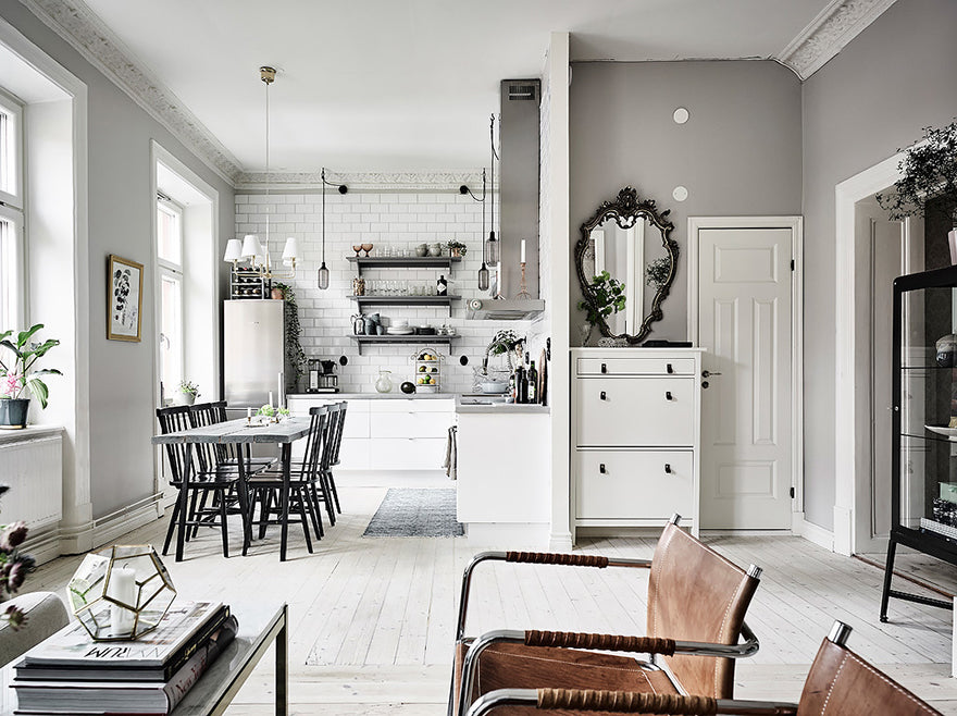 Scandinavian Haven Swedish interior design blog Gothenburg apartment Sweden