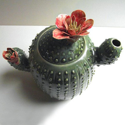 Cactus Teapot by L'Officina Italy | The Magpie Files