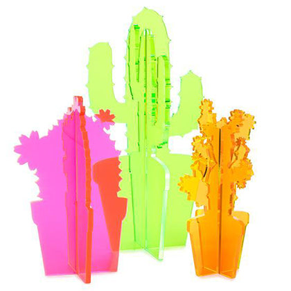 Neon cacti by Love & Victory | The Magpie Files