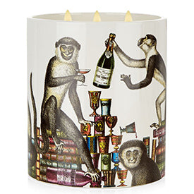 Fornasetti Scimmie Large Scented Candle