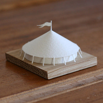 Circus Tent No. 83 Paperholm mechanical paper model by Charles Young