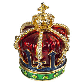 Jewelled Crown Box by India Jane