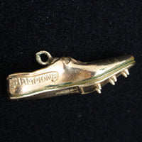 Vintage running shoe charm